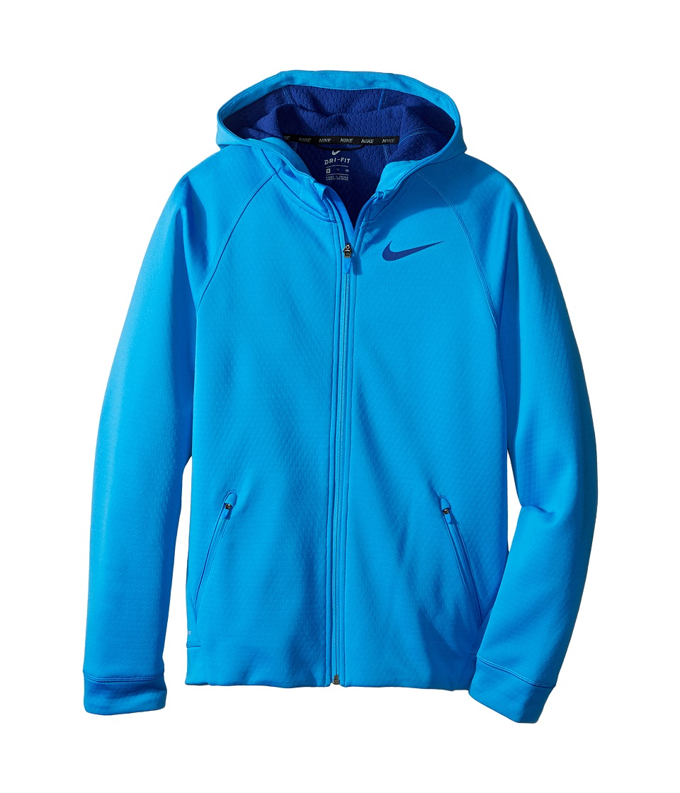 Nike Kids - Therma Sphere Jacket (Little Kids/Big Kids) (Light Photo Blue/Deep Royal Blue) Boy's Coat
