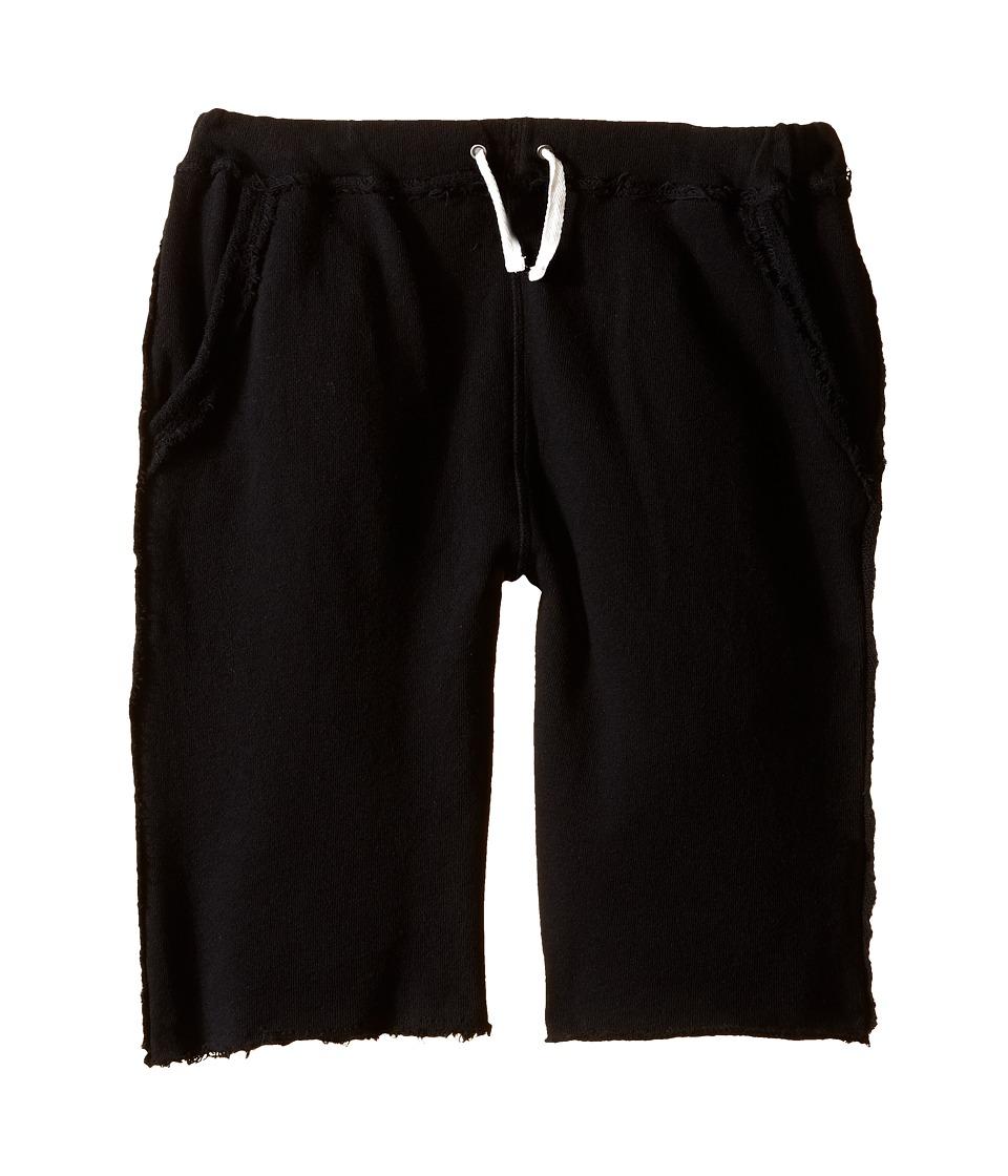 Appaman Kids - Ultra Soft Brighton Pull-On Sweat Shorts (Toddler/Little Kids/Big Kids) (Black) Boy's Shorts