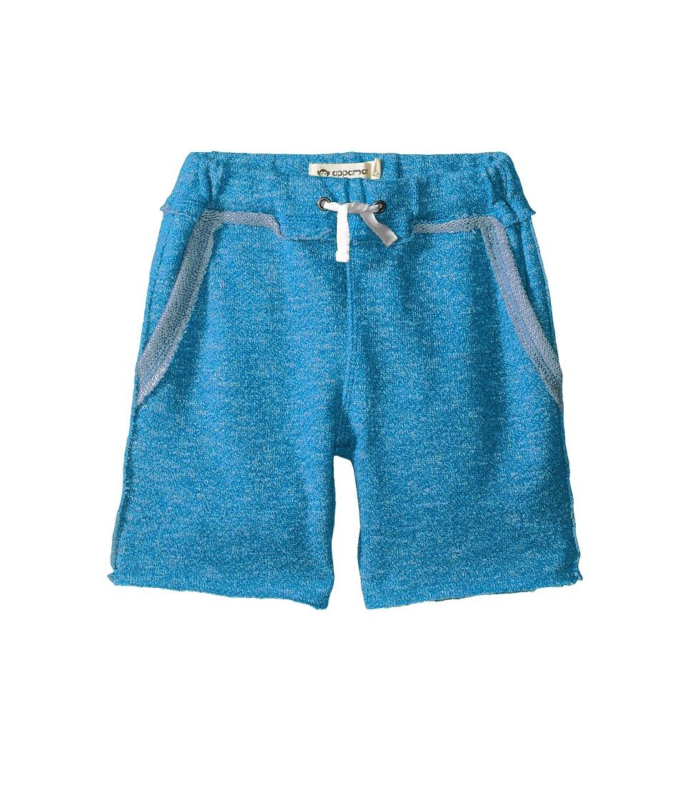 Appaman Kids - Ultra Soft Brighton Pull-On Sweat Shorts (Toddler/Little Kids/Big Kids) (Methyl Blue) Boy's Shorts