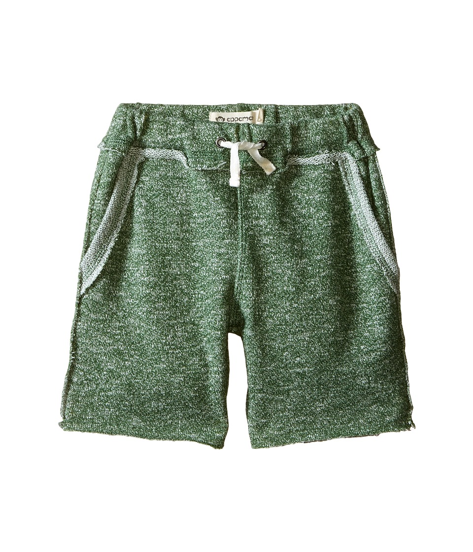 Appaman Kids - Ultra Soft Brighton Pull-On Sweat Shorts (Toddler/Little Kids/Big Kids) (Olive) Boy's Shorts