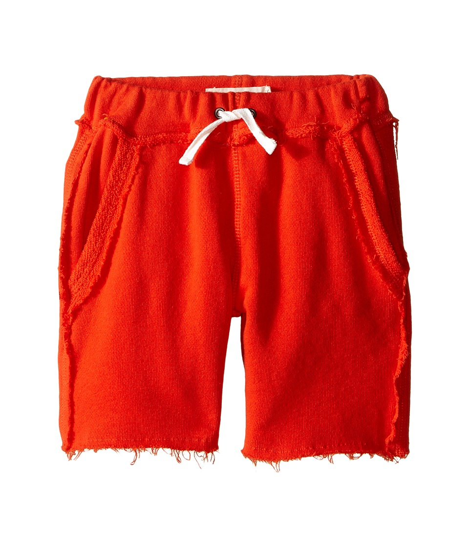 Appaman Kids - Ultra Soft Brighton Pull-On Sweat Shorts (Toddler/Little Kids/Big Kids) (Orange Soda) Boy's Shorts