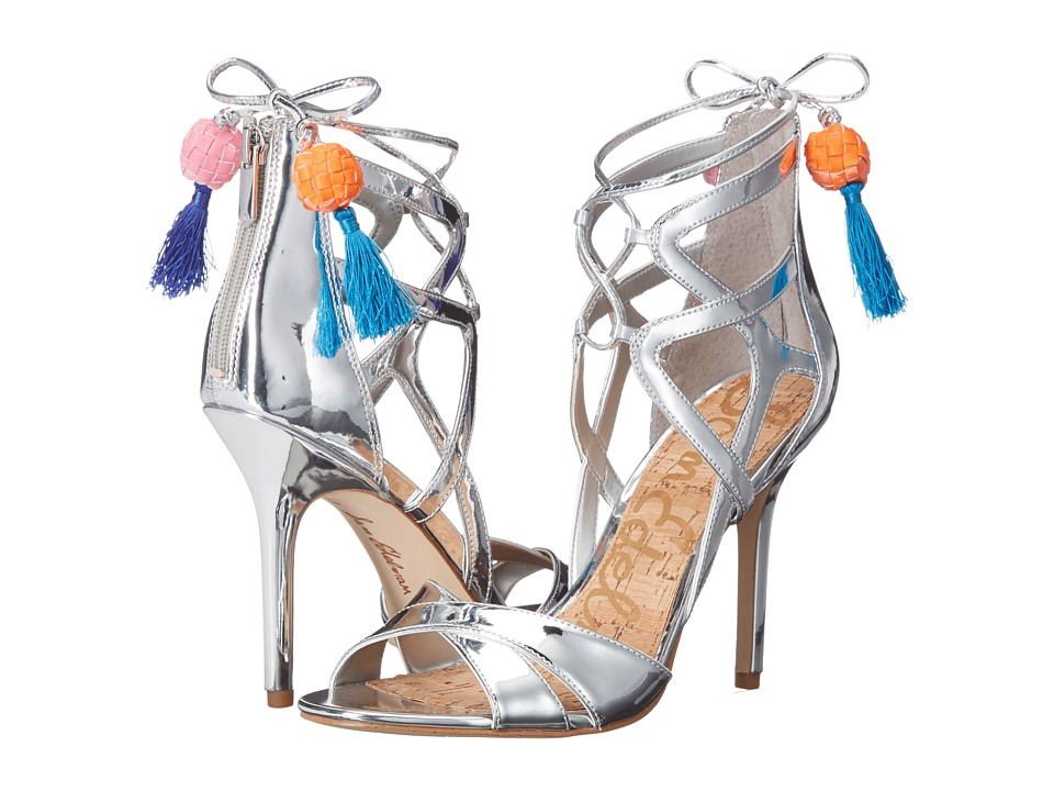 Sam Edelman - Azela (Soft Silver Liquid Metallic) High Heels