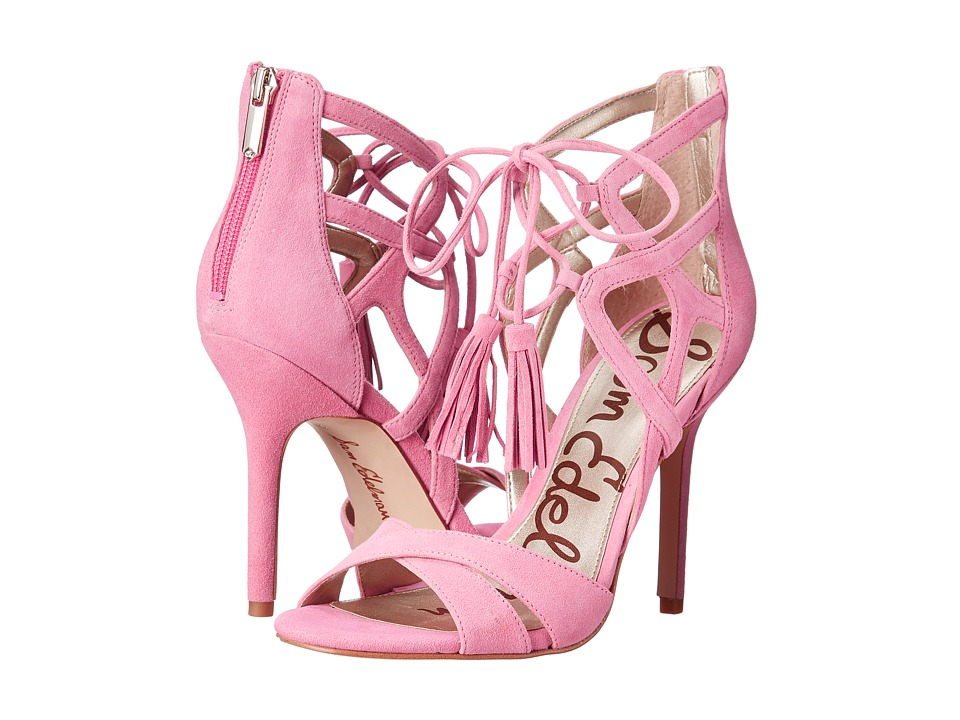 Sam Edelman - Azela (Bubblegum Pink Kid Suede Leather) High Heels