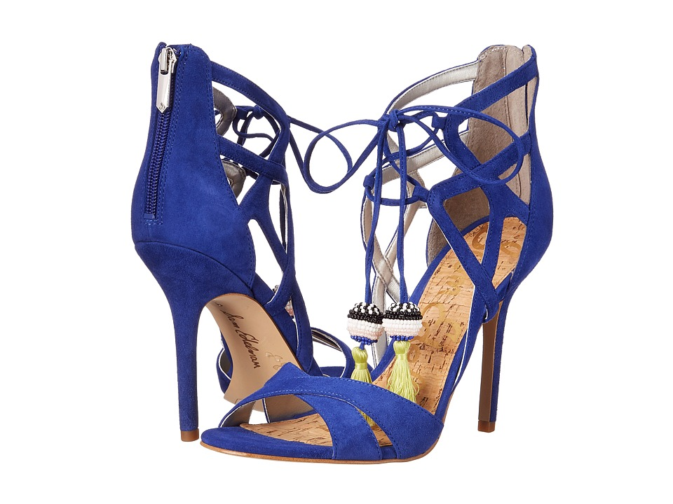 Sam Edelman - Azela (Sailor Blue Kid Suede Leather) High Heels