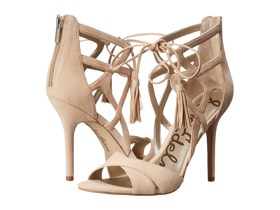 Sam Edelman - Azela (Soft Nude Kid Suede Leather) High Heels