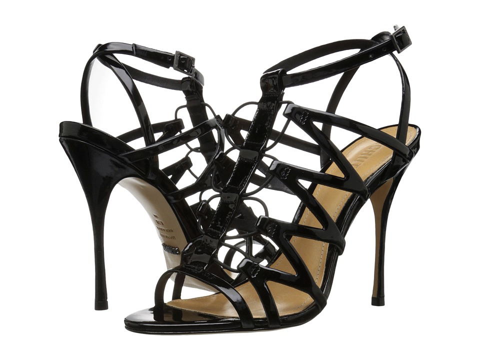 Schutz - Floppy (Black) Women's Shoes