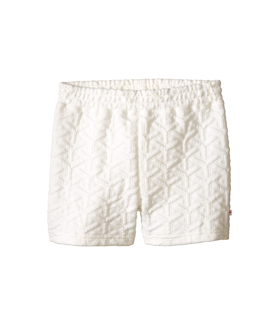 Appaman Kids - Ultra Soft Flint Double Knit Pull-On Shorts (Toddler/Little Kids/Big Kids) (Cloud Dancer) Girl's Shorts