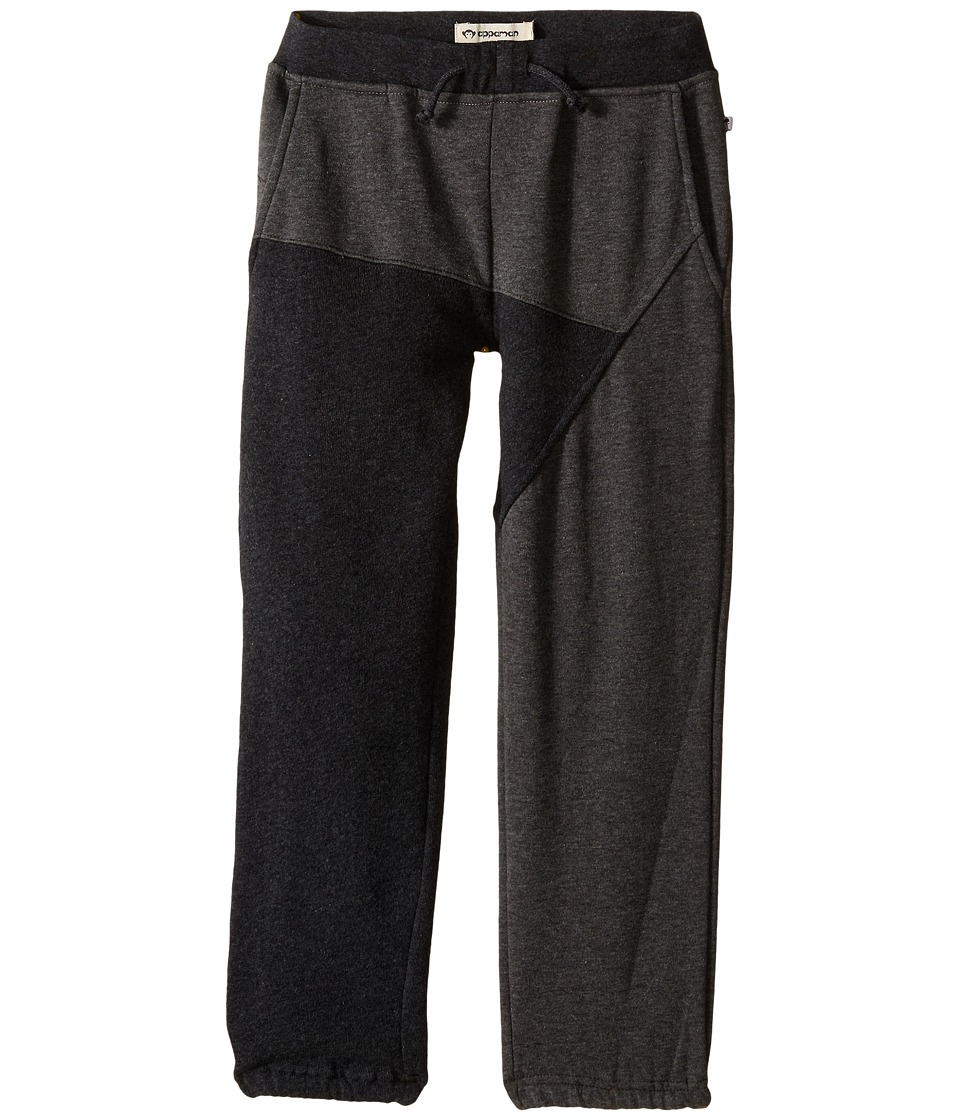 Appaman Kids - Ultra Soft Meridian Cotton Sweats (Toddler/Little Kids/Big Kids) (Charcoal Heather) Boy's Clothing