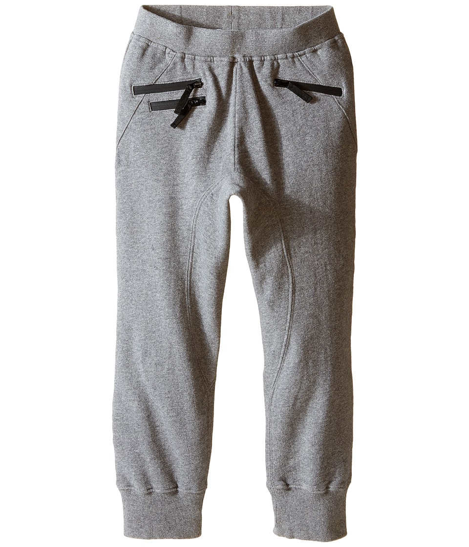 Appaman Kids - Soft and Easy Jogger Parker Sweats (Toddler/Little Kids/Big Kids) (Light Grey Heather) Boy's Clothing