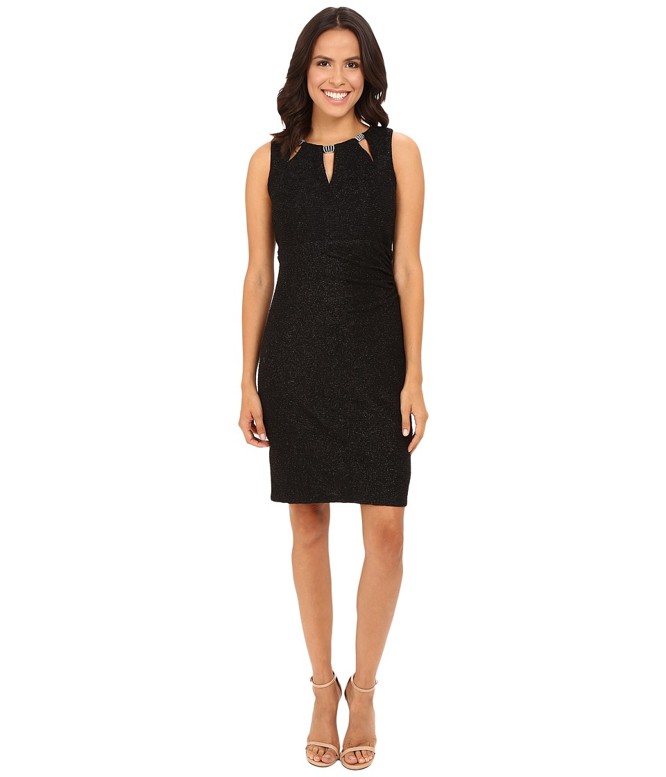 rsvp - Butterscotch Key Hole Dress (Black) Women's Dress