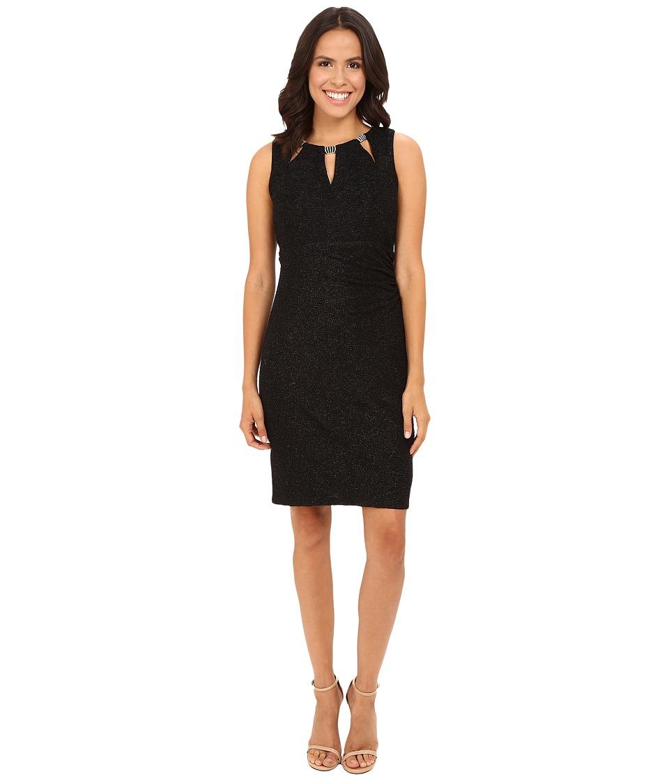 rsvp - Butterscotch Key Hole Dress (Black) Women's Dress