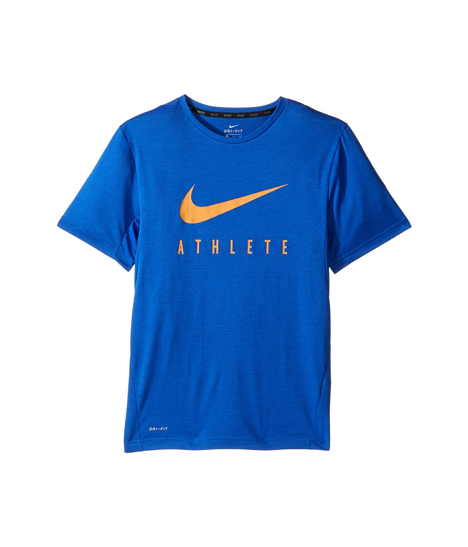 Nike Kids - Short Sleeve Training Top (Little Kids/Big Kids) (Game Royal) Boy's Clothing