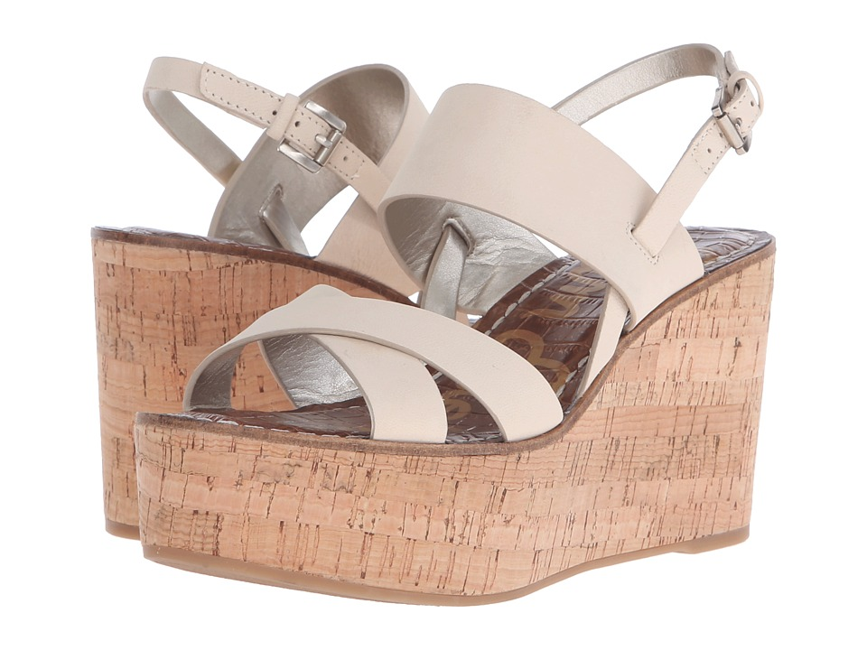 Sam Edelman - Destiny (Summer Sand Wayne Nubuck Leather) Women's Wedge Shoes