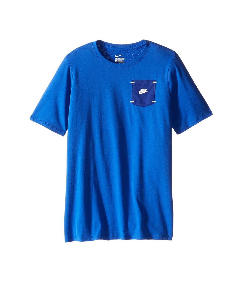 Nike Kids - Training T-Shirt (Little Kids/Big Kids) (Game Royal) Boy's Clothing