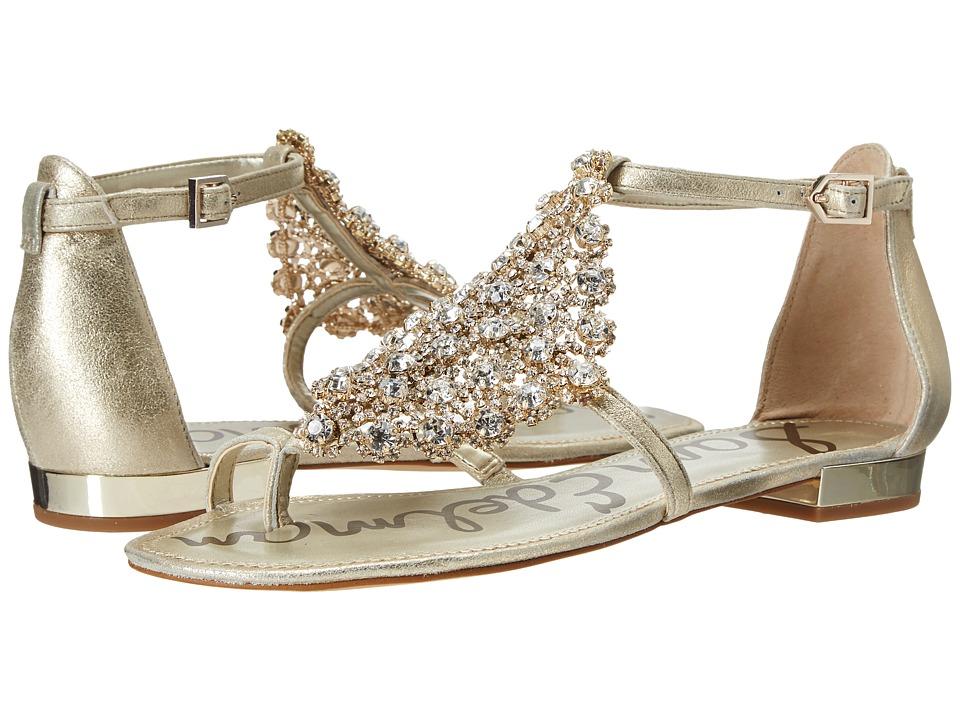 Sam Edelman - Dillan (Jute Dreamy Metallic Leather) Women's Dress Sandals