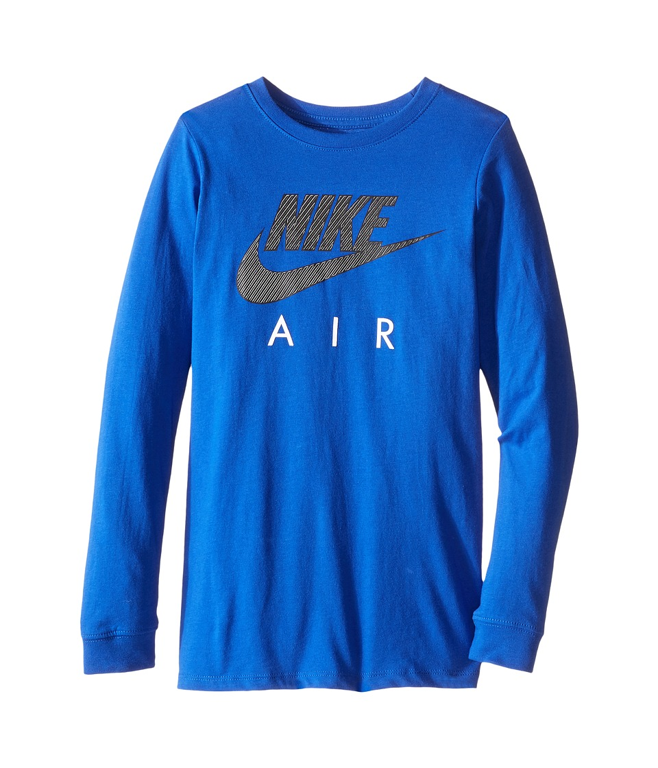 Nike Kids - Cotton Long Sleeve Air TD (Little Kids/Big Kids) (Game Royal) Boy's Clothing