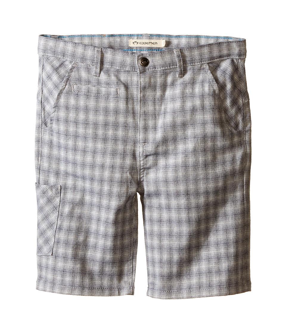 Appaman Kids - Classic Soft Cotton Seaside Shorts (Toddler/Little Kids/Big Kids) (Flint Plaid) Boy's Shorts