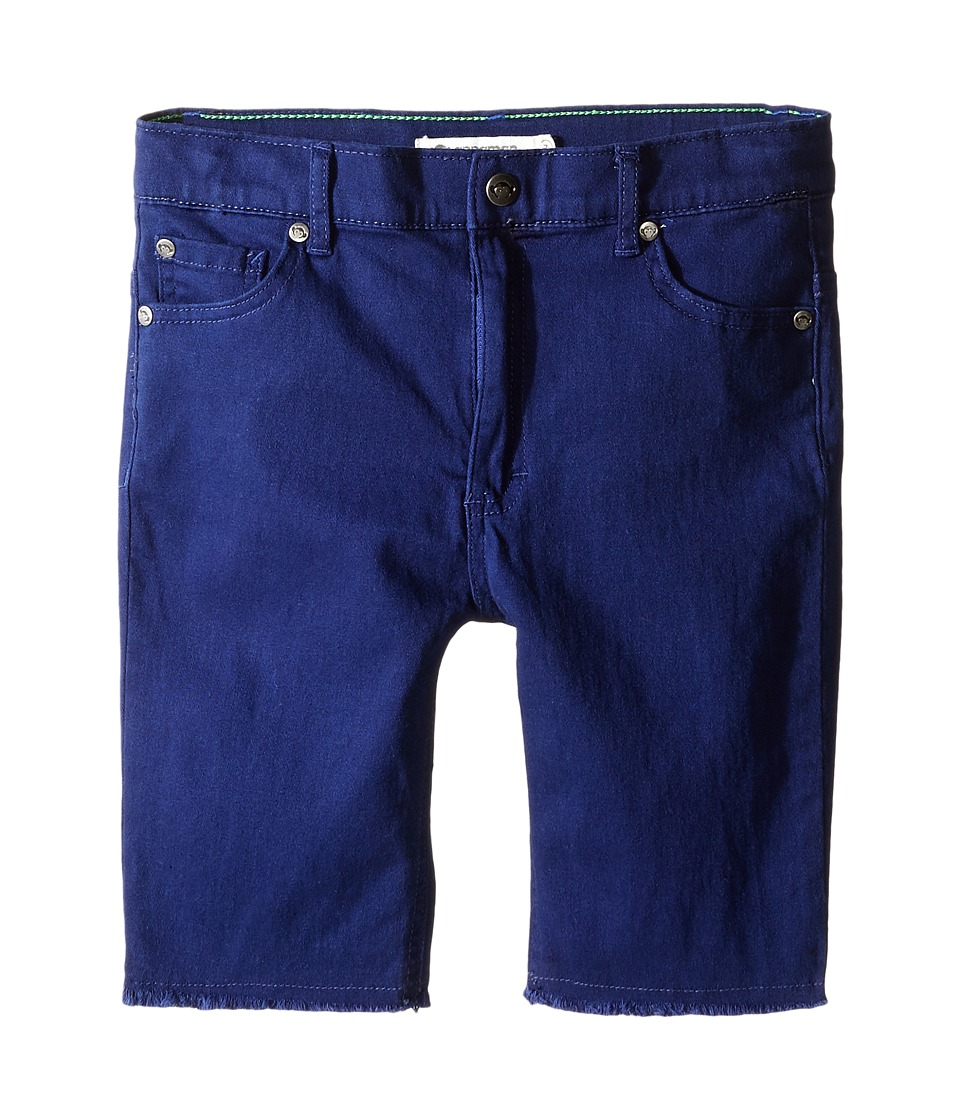 Appaman Kids - Super Soft Raw Edge Punk Shorts (Toddler/Little Kids/Big Kids) (Blue Depths) Boy's Shorts