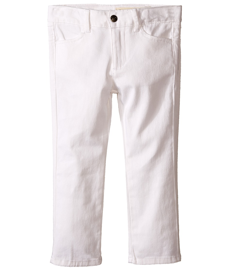 Appaman Kids - Super Soft Skinny Twill Pants (Toddler/Little Kids/Big Kids) (Cloud Dancer) Boy's Casual Pants