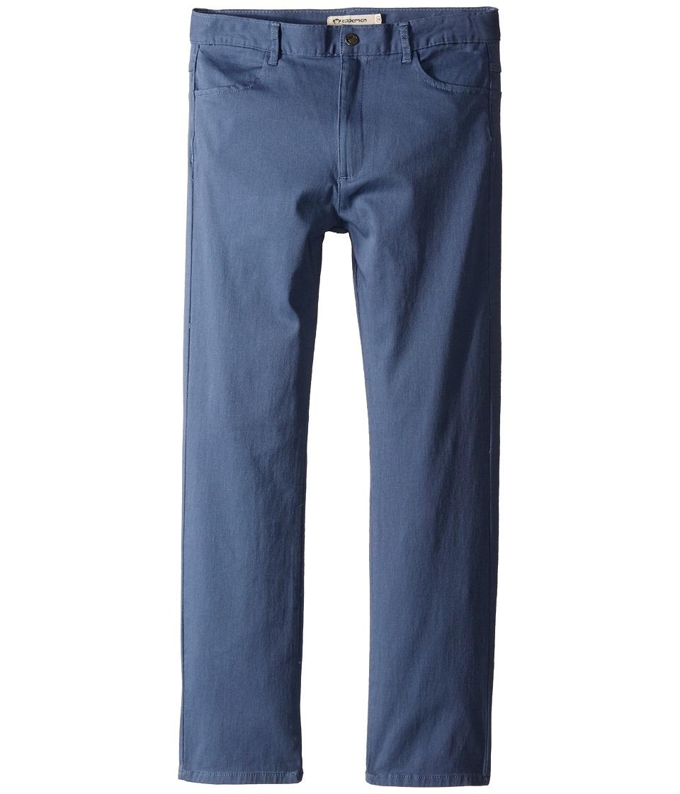 Appaman Kids - Super Soft Skinny Twill Pants (Toddler/Little Kids/Big Kids) (Flint Stone) Boy's Casual Pants
