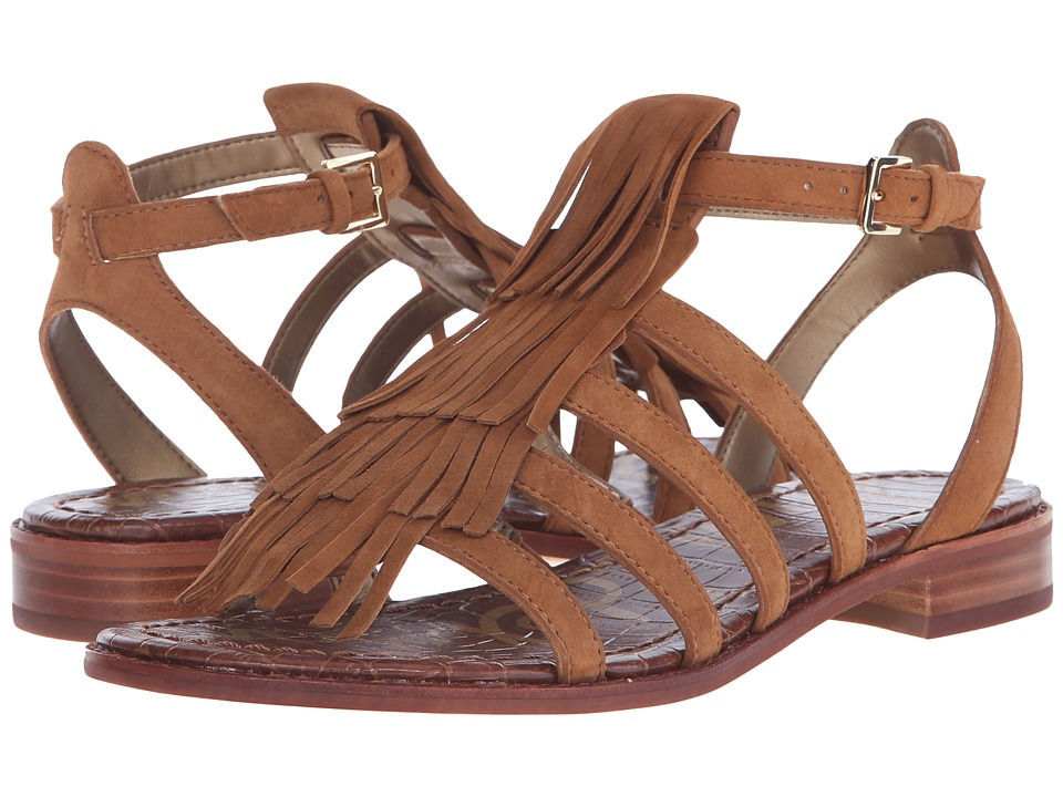 Sam Edelman - Estelle (Saddle Kid Suede Leather) Women's Sandals