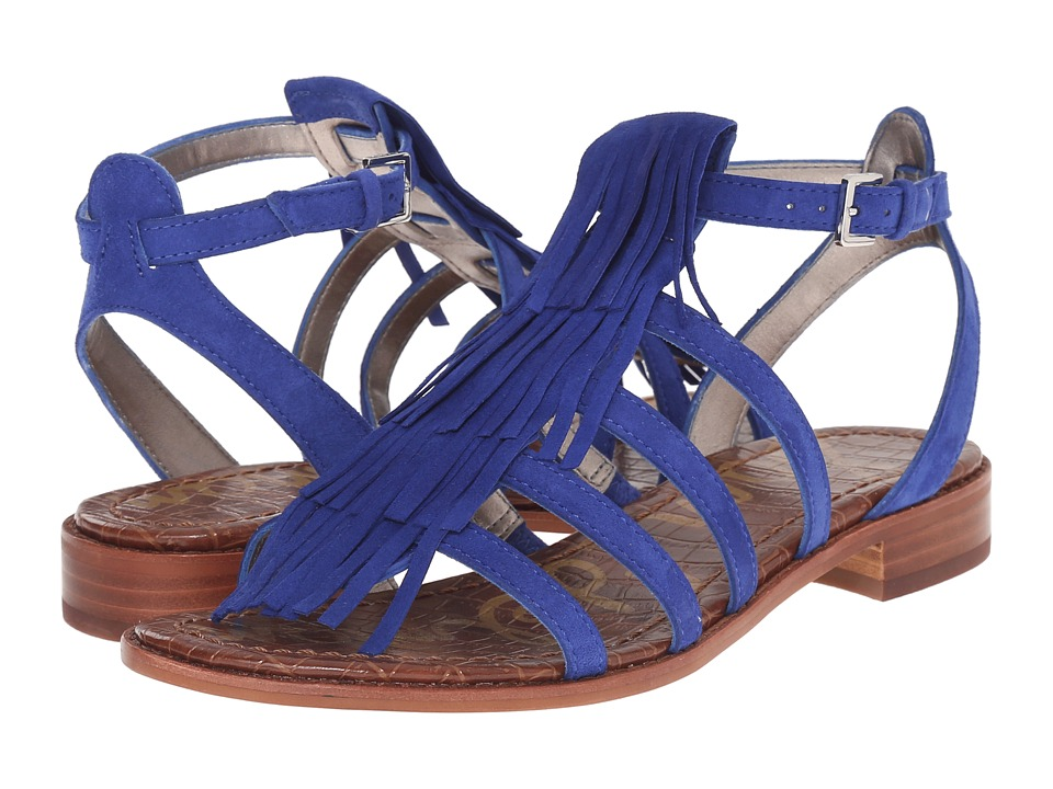Sam Edelman - Estelle (Sailor Blue Kid Suede Leather) Women's Sandals