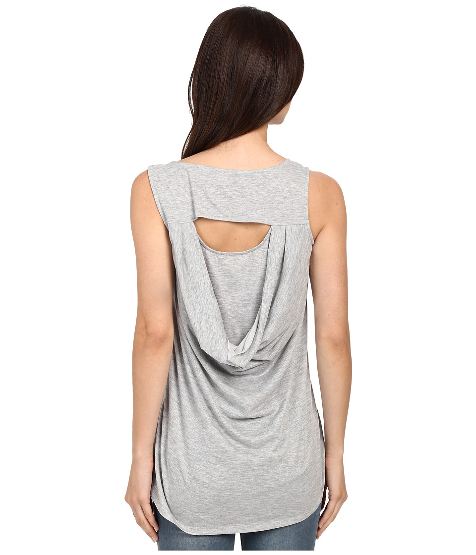 Brigitte Bailey - Adalwine Sleeveless Top (Light Heather Grey) Women's Sleeveless