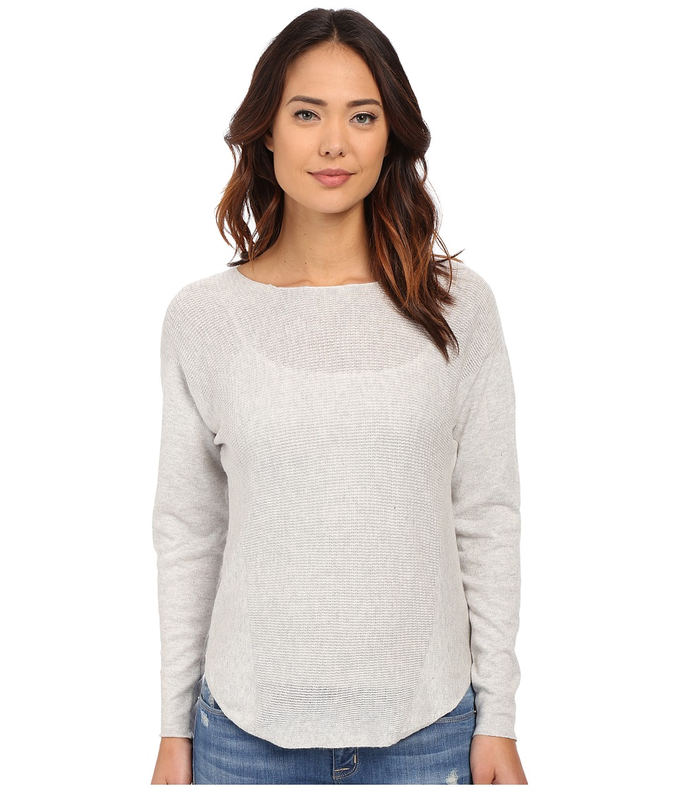 Brigitte Bailey - Kai Thermal Pullover (Heather Grey) Women's Clothing