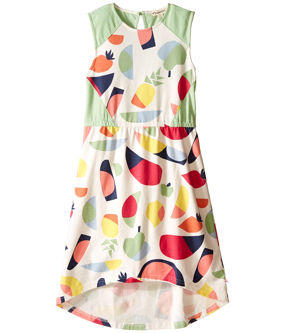 Appaman Kids - Easy and Comfy Abbey Printed High-Low Dress (Toddler/Little Kids/Big Kids) (Parfait) Girl's Dress