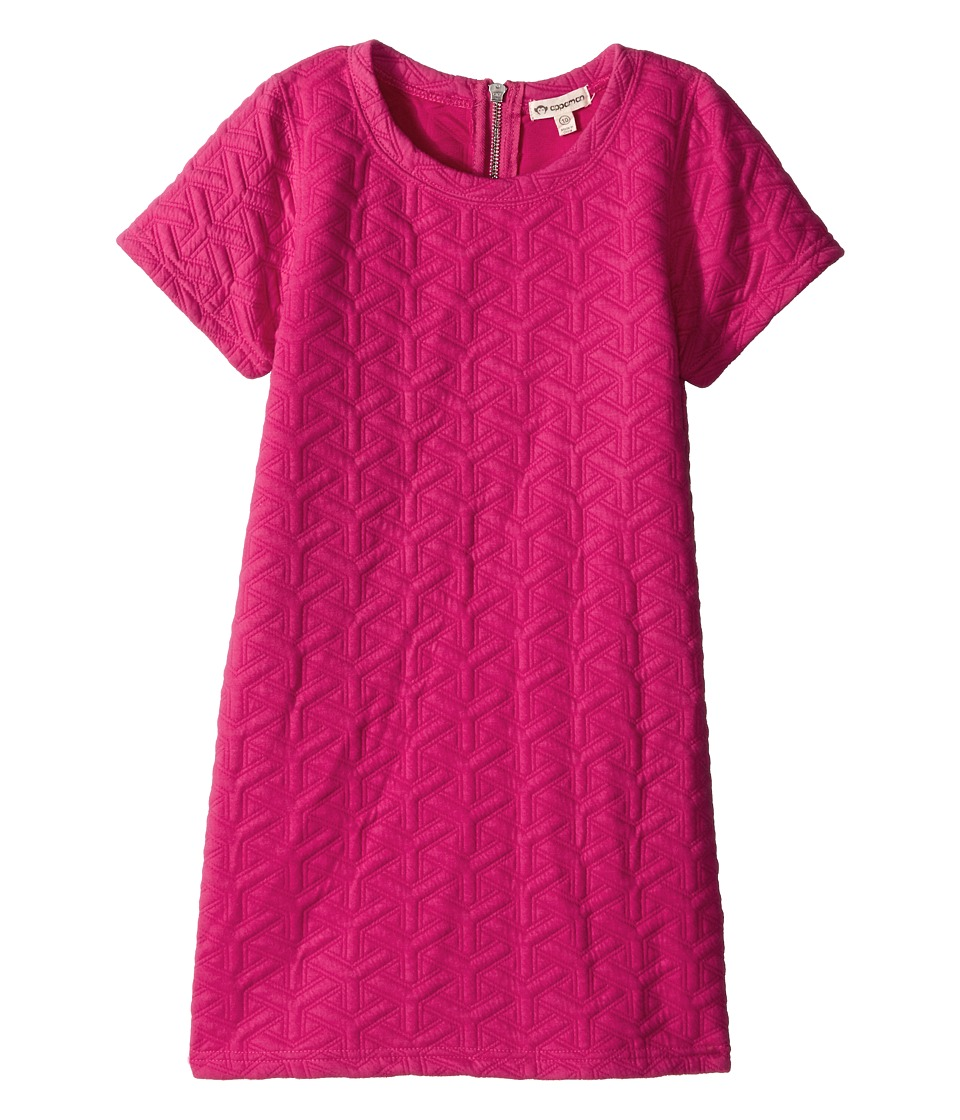 Appaman Kids - Ultra Soft Sierra Short Sleeve Mod Shift Dress (Toddler/Little Kids/Big Kids) (Beet Root Purple) Girl's Dress
