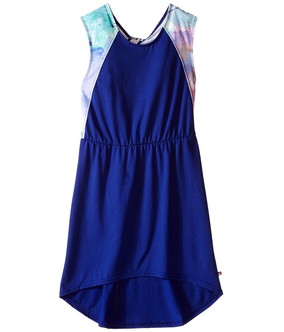 Appaman Kids - Easy and Comfy Emma Halter High-Low Maxi Dress (Toddler/Little Kids/Big Kids) (Navy Blue) Girl's Dress