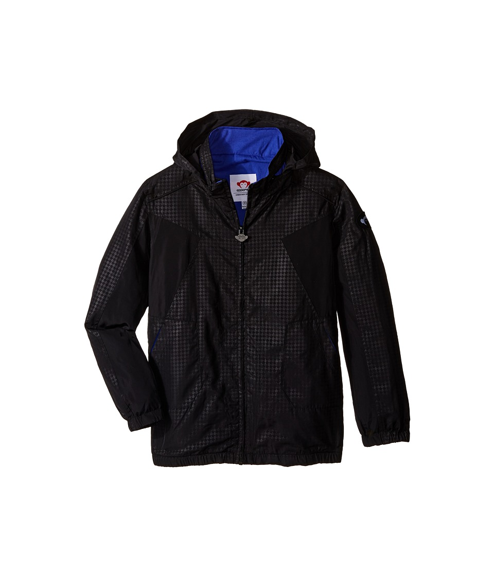 Appaman Kids - Navigator Jacket with Stowe Away Hood and Cotton Lining (Toddler/Little Kids/Big Kids) (Black) Boy's Coat