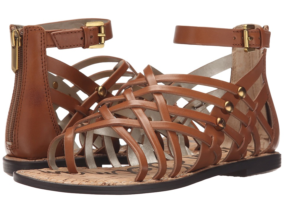 Sam Edelman Gardener Saddle Vaquero Saddle Leather Womens Sandals