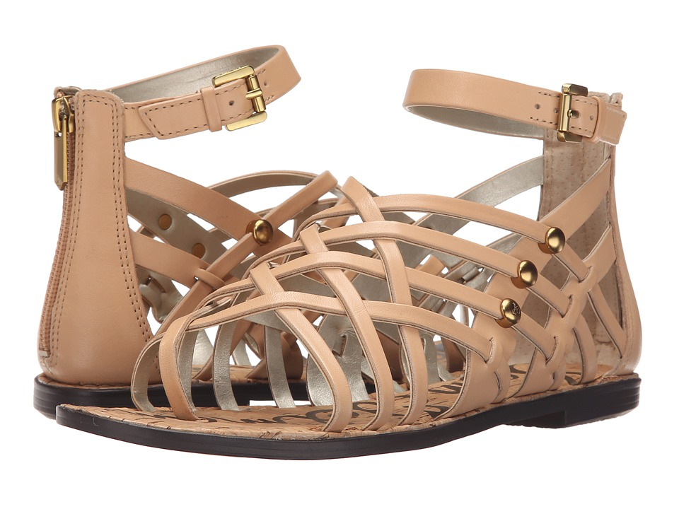 Sam Edelman - Gardener (Natural Naked Naked Atanado Leather) Women's Sandals