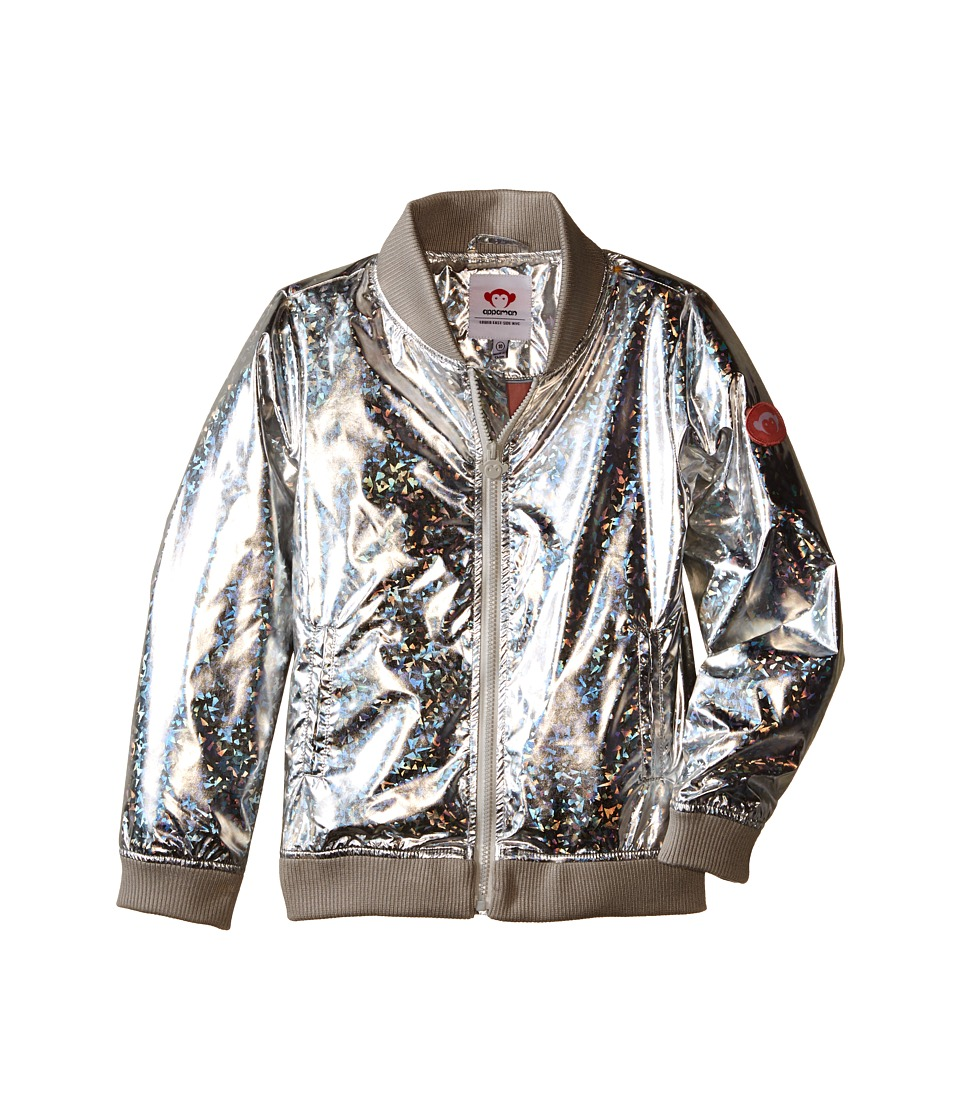 Appaman Kids - Myer Bomber Jacket with Lining and Reflective Material (Toddler/Little Kids/Big Kids) (Prism) Girl's Coat