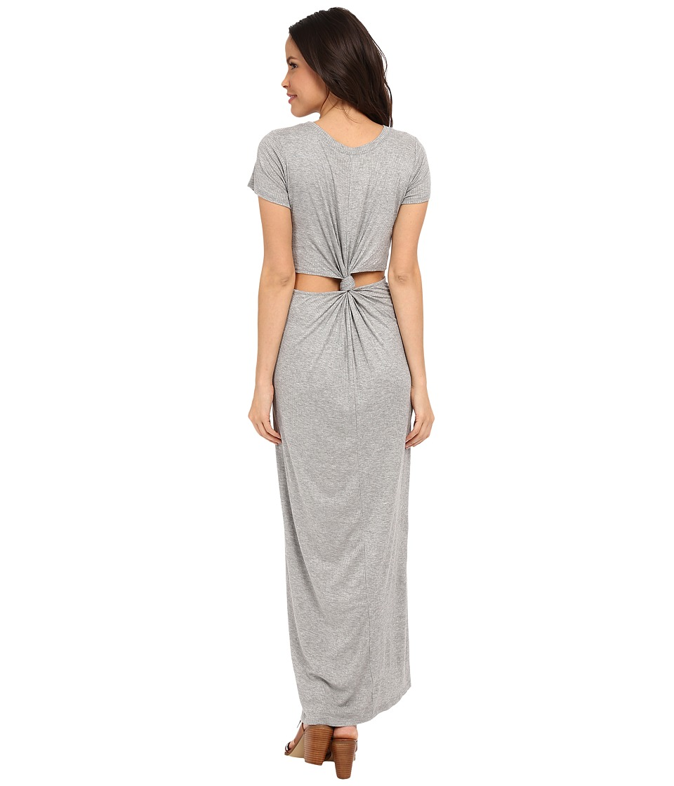 Brigitte Bailey - T-Shirt Cut Out Dress (Grey) Women's Dress