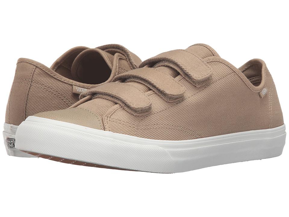 Vans - Style 23 V ((Twill) Cornstalk/Blanc de Blanc) Skate Shoes