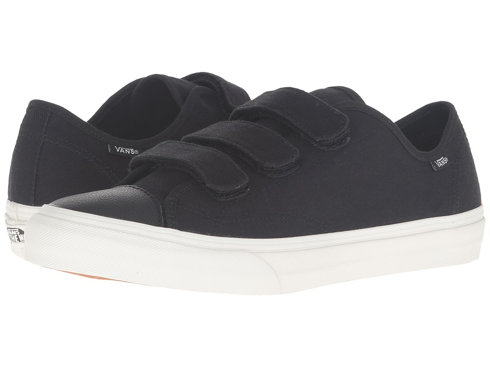 Vans - Style 23 V ((Twill) Black/Blanc de Blanc) Skate Shoes