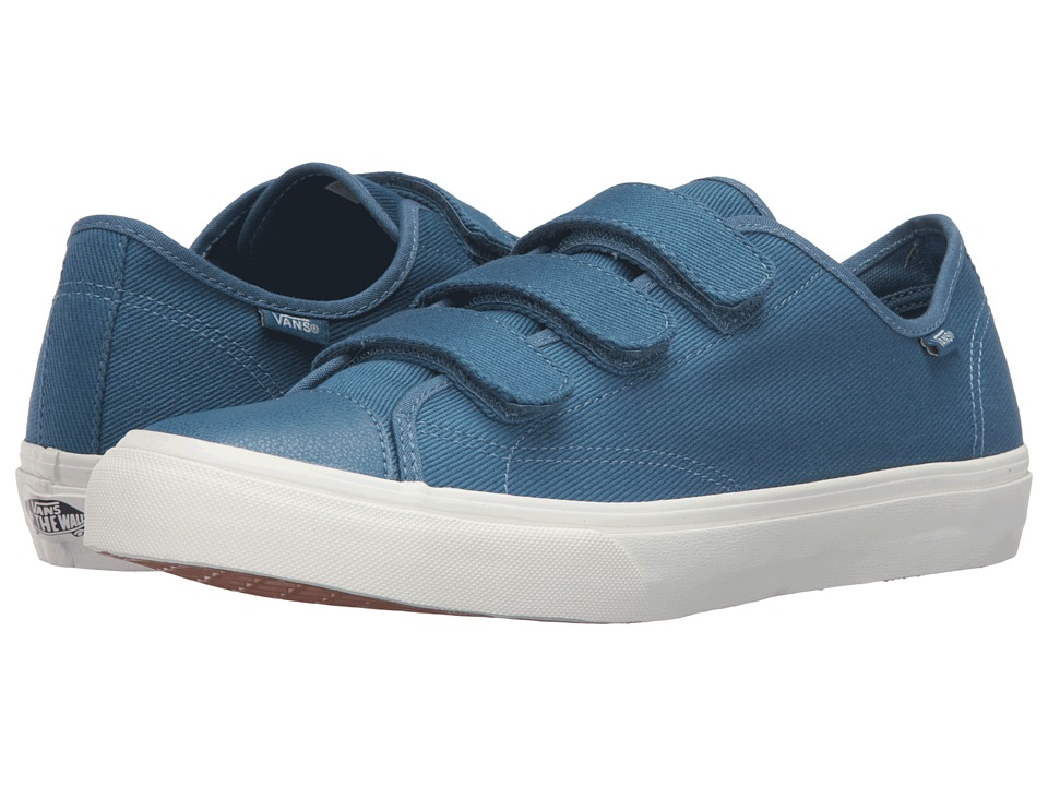 Vans - Style 23 V ((Twill) Blues Ashes/Blanc de Blanc) Skate Shoes