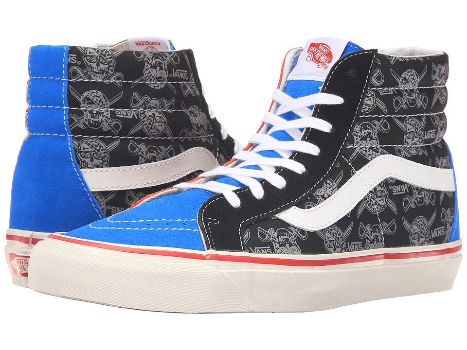 Vans - SK8-Hi Reissue ((50th) STV/Multi Print) Skate Shoes