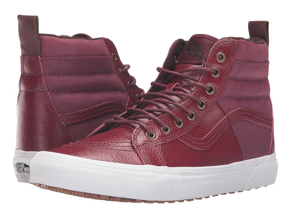 Vans - SK8-Hi 46 MTE ((Pebble Leather) Port Royale) Skate Shoes