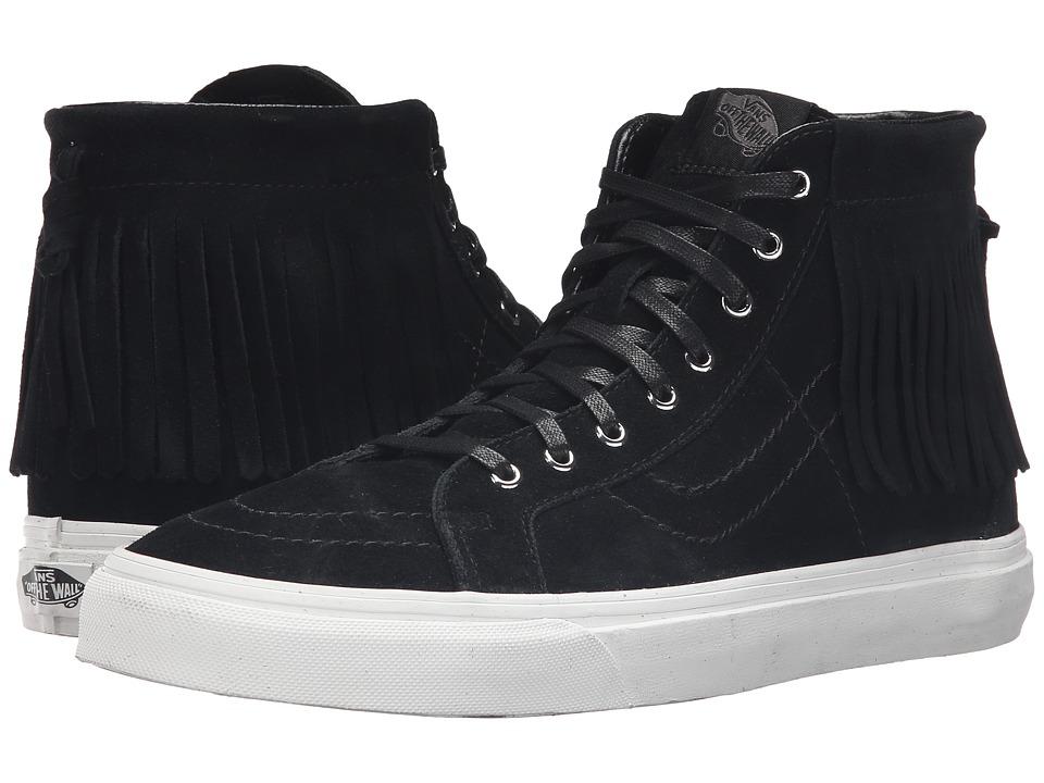 Vans - SK8-Hi Moc ((Suede) Black/Blanc De Blanc) Skate Shoes