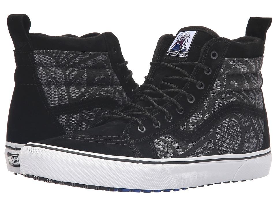 Vans - SK8-Hi MTE ((Jamie Lynn) Black/Black/White) Skate Shoes