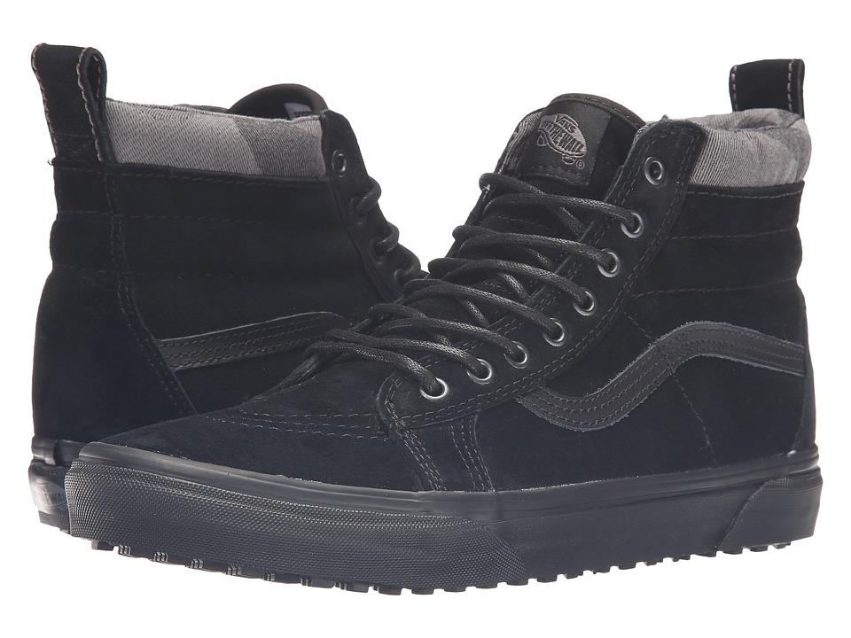 Vans - SK8-Hi MTE ((MTE) Black/Black/Camo) Skate Shoes