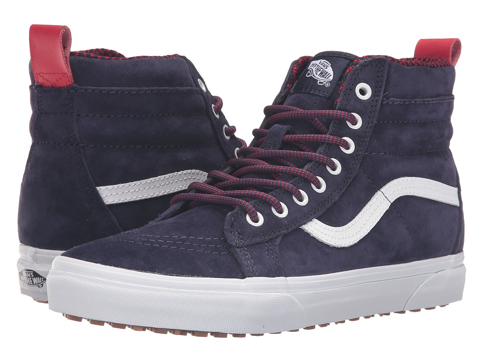 Vans - SK8-Hi MTE ((MTE) Evening Blue/True White) Skate Shoes