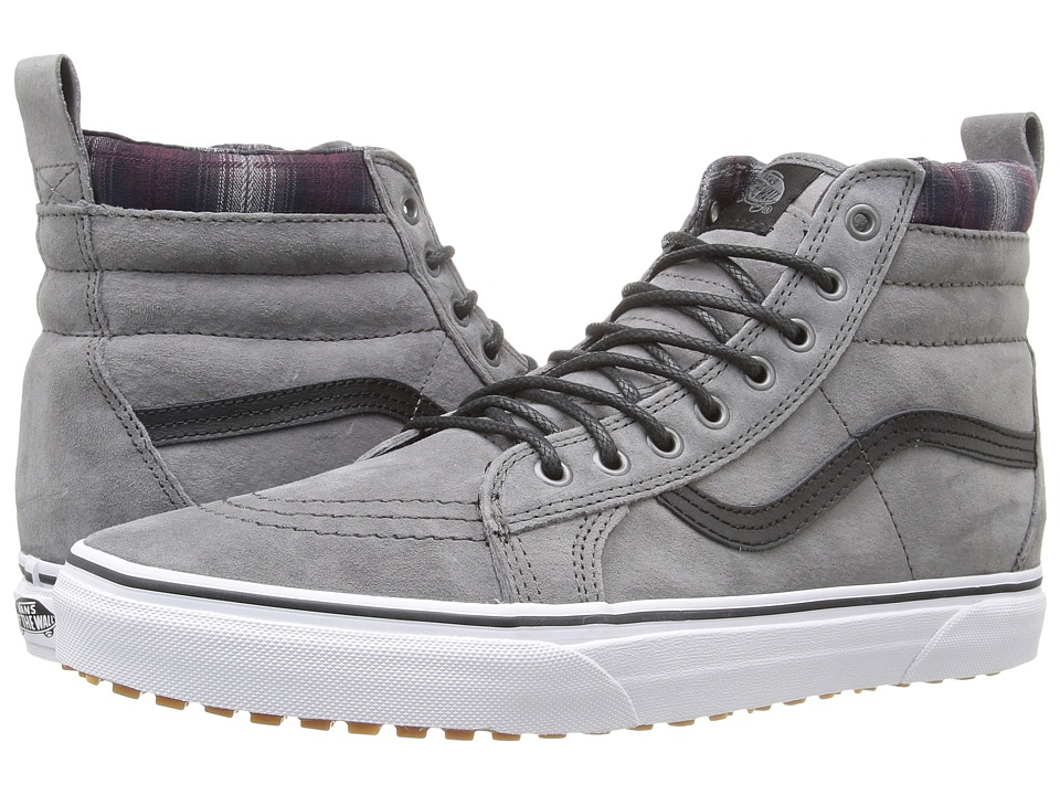 Vans - SK8-Hi MTE ((MTE) Pewter/Plaid) Skate Shoes