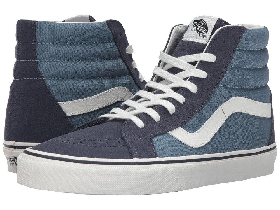 Vans - SK8-Hi Reissue ((2 Tone) Parisian Night/Blue Mirage) Skate Shoes