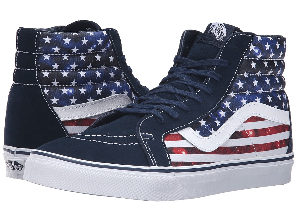 Vans - SK8-Hi Reissue ((Americana) Dress Blues/True White) Skate Shoes