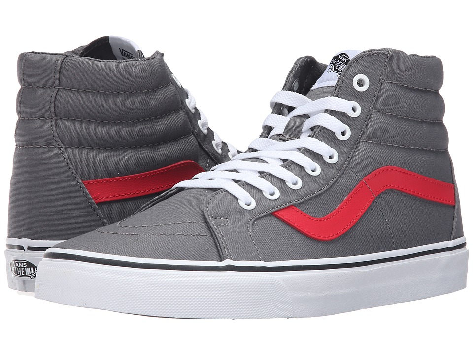 Vans - SK8-Hi Reissue ((Canvas) Tornado/Racing Red) Skate Shoes