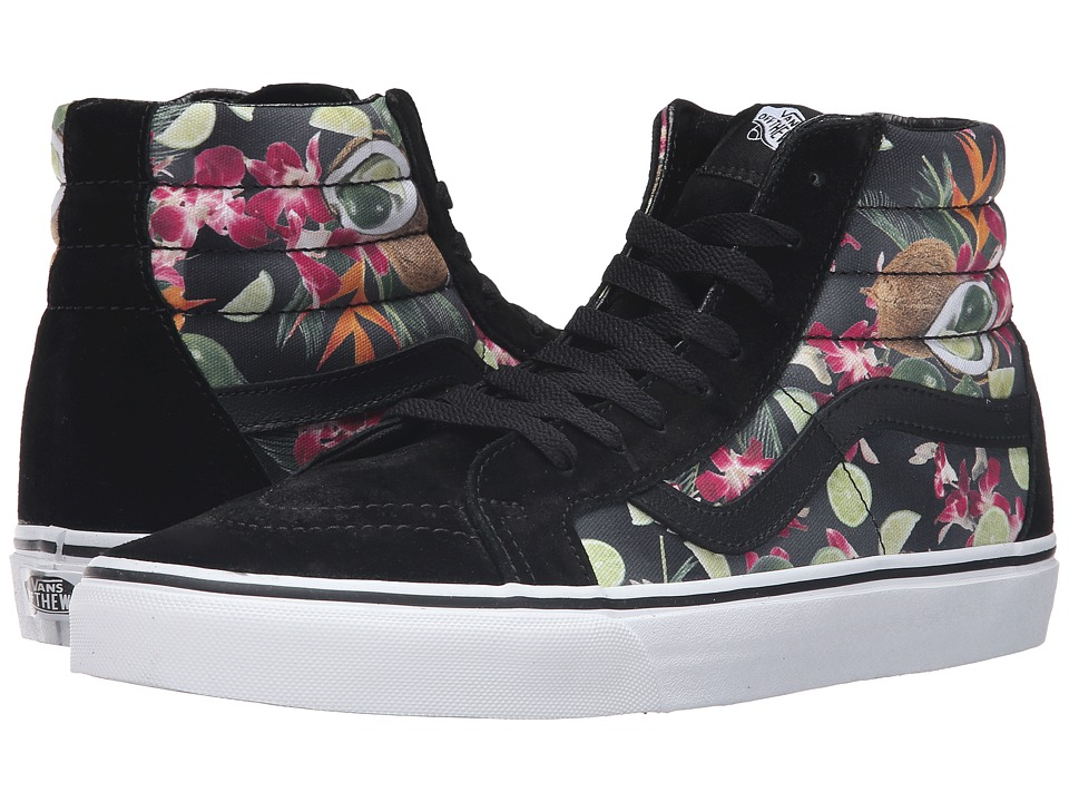 Vans - SK8-Hi Reissue ((Lime in the Coconut) Black) Skate Shoes